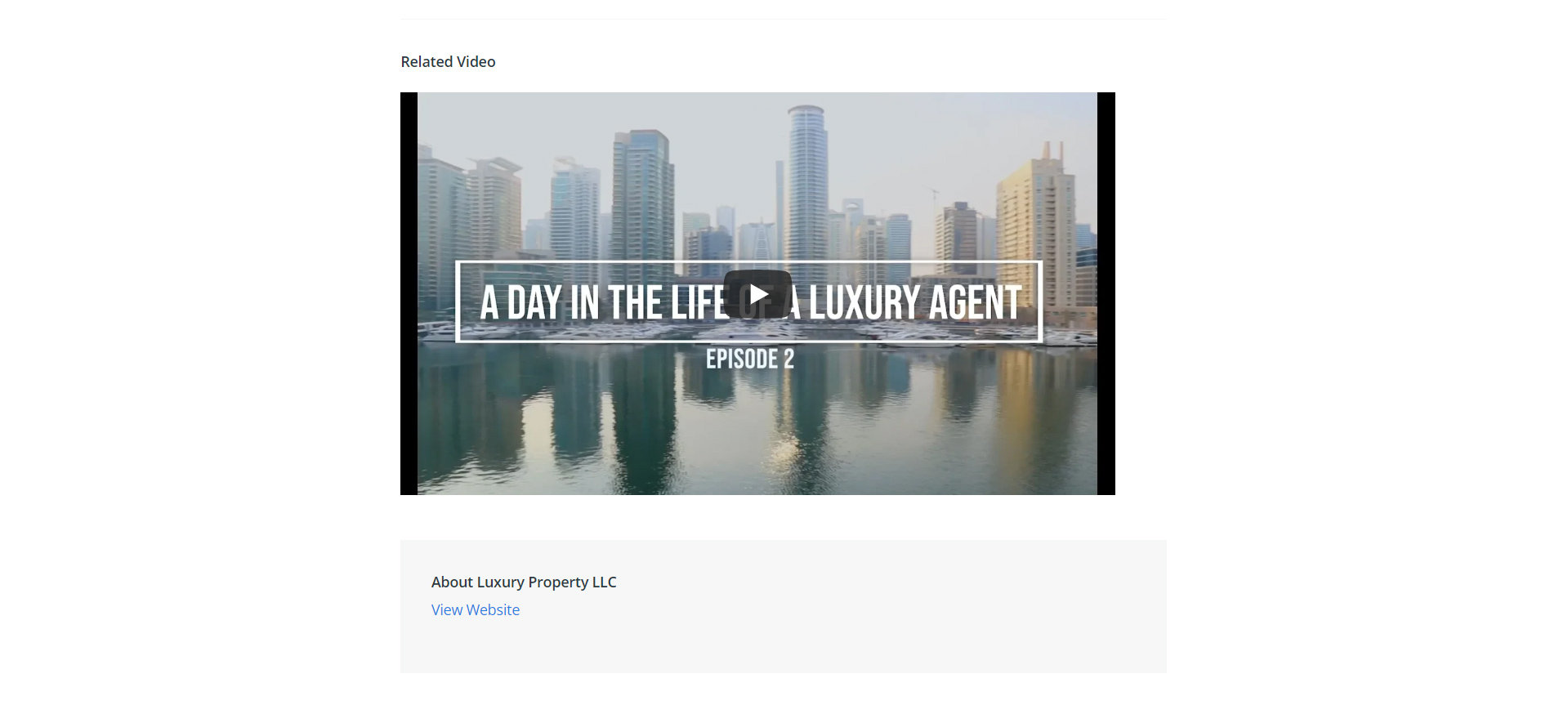 Newswire - Luxury  Agent Day Dubai 7
