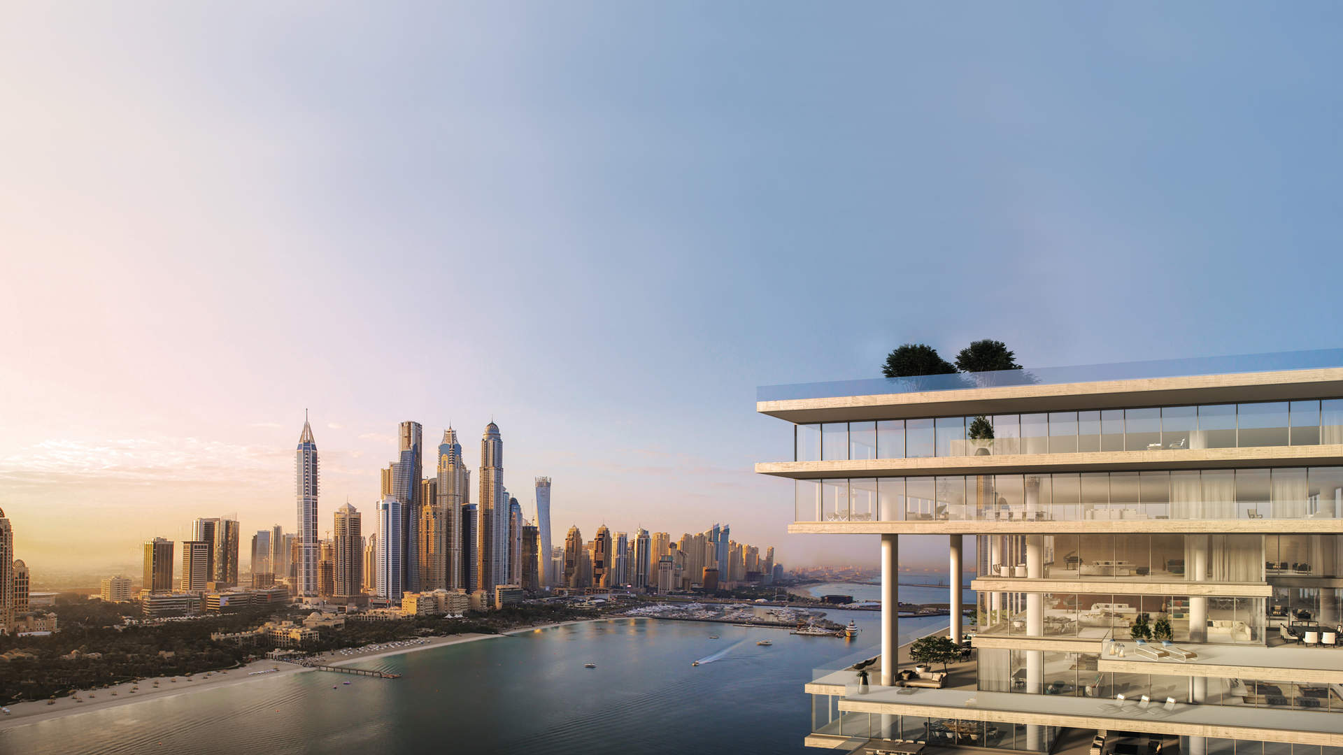 Penthouse One Palm by Omniyat