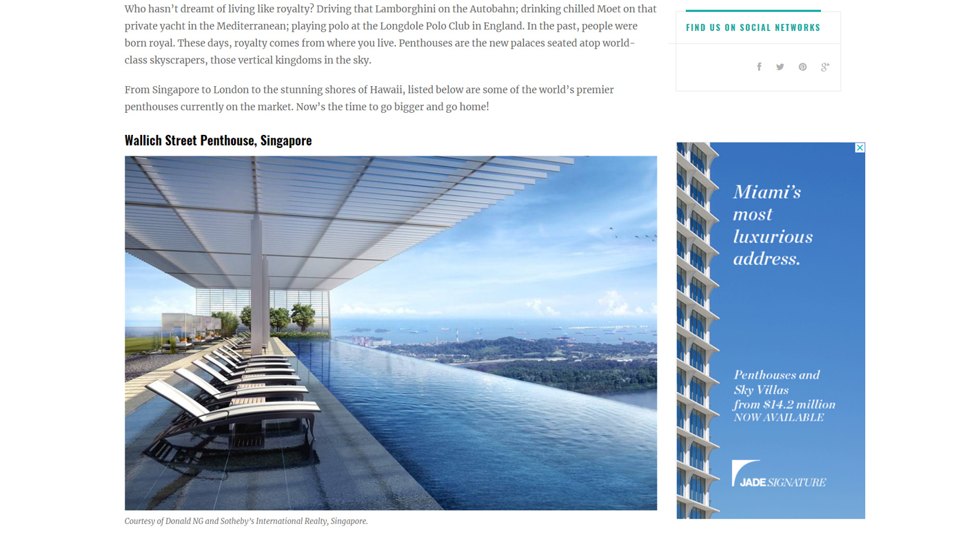 Dubai Posh Penthouses