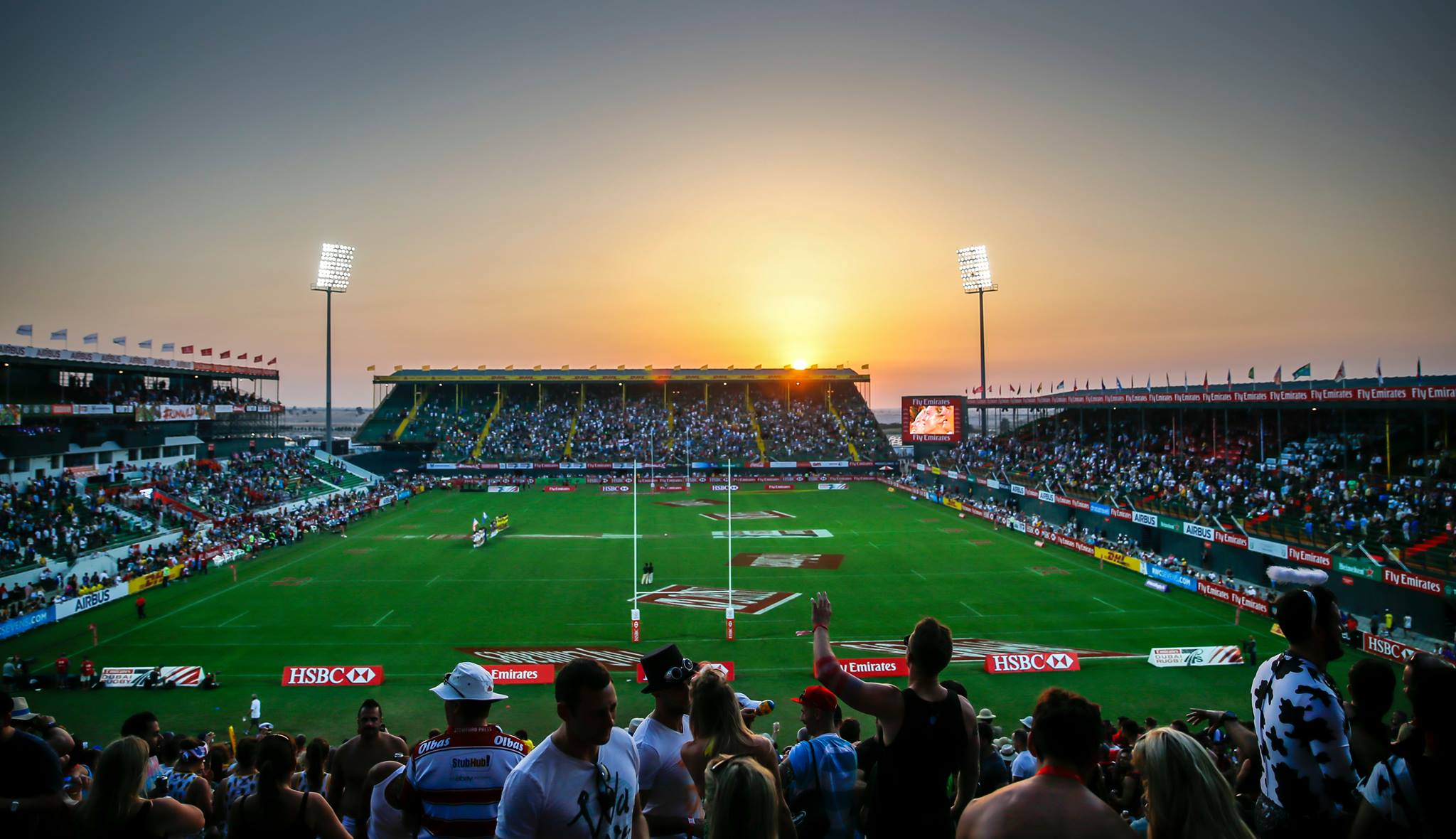 The Dubai Rugby Sevens Dates Back To 1970 Making It A Dubai Fixture For Almost 50 Years Held At The Sevens Stadium This Thrilling Tournament Is Perhaps