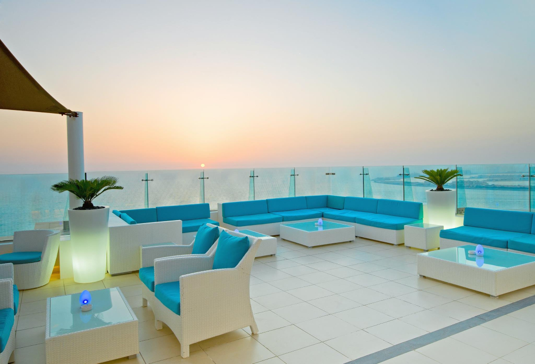 Sunset at Pure Sky Lounge