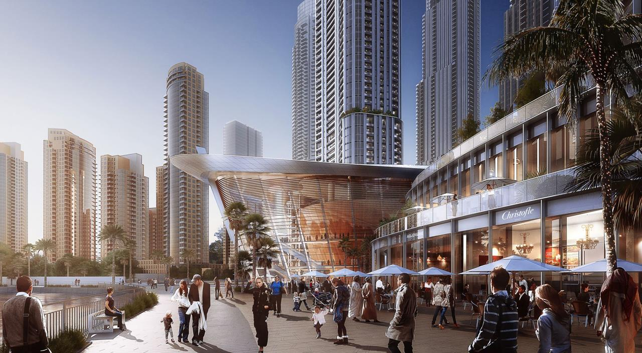 The Address Residences Apartment at Dubai Opera