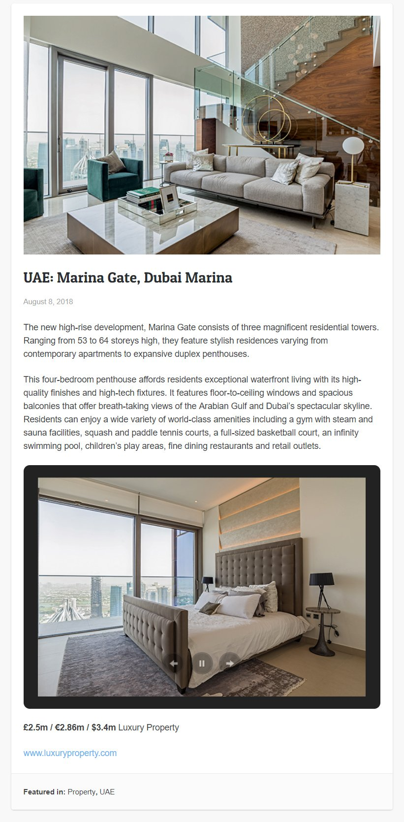 UAE Marina Gate 2
