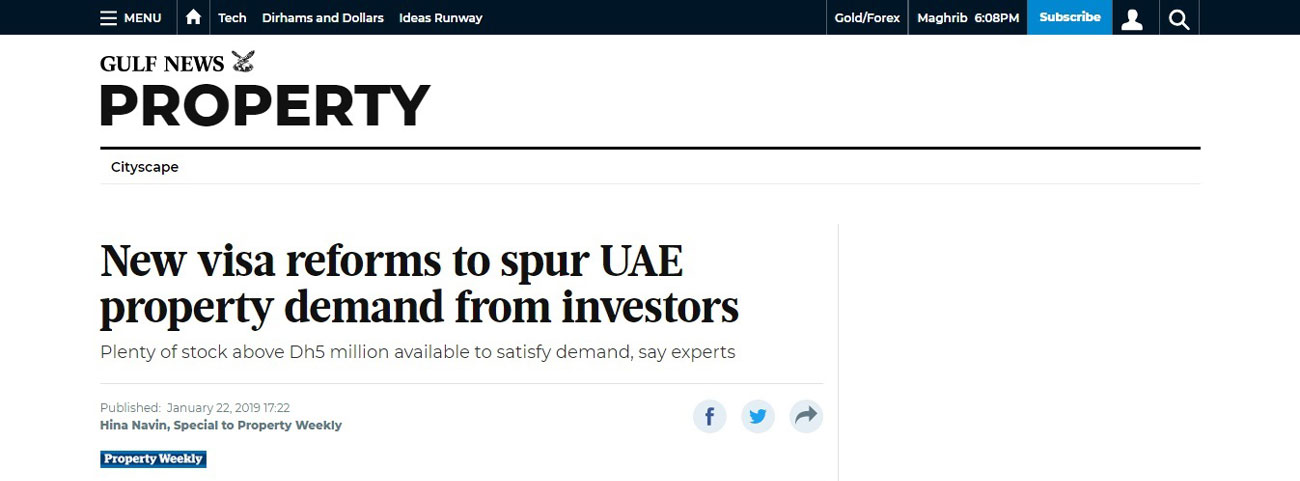 New visa reforms in UAE