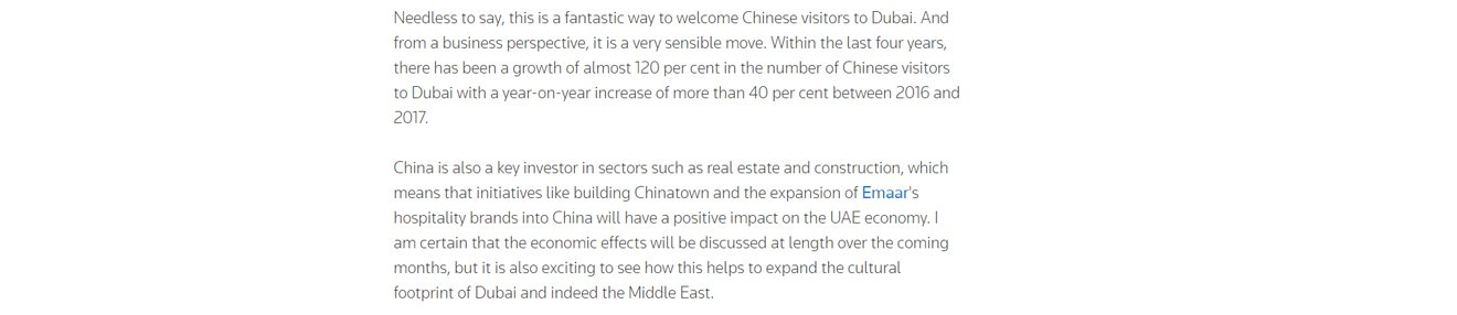 Bringing China to the Middle East