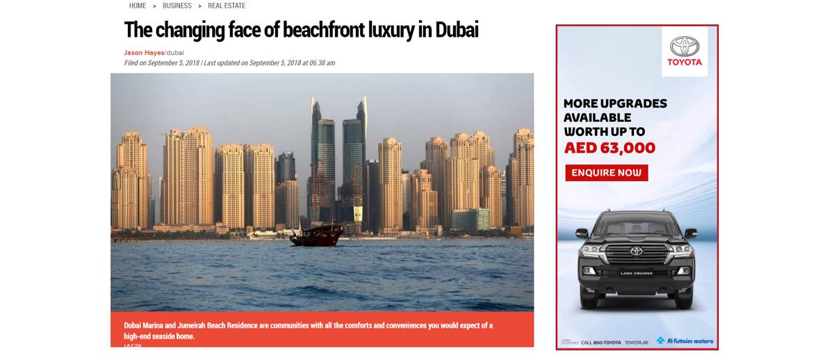 beachfront luxury in Dubai - 2