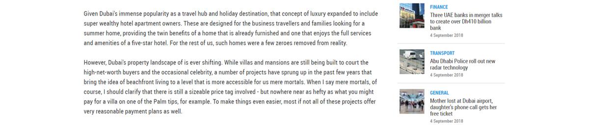 beachfront luxury in Dubai - 4