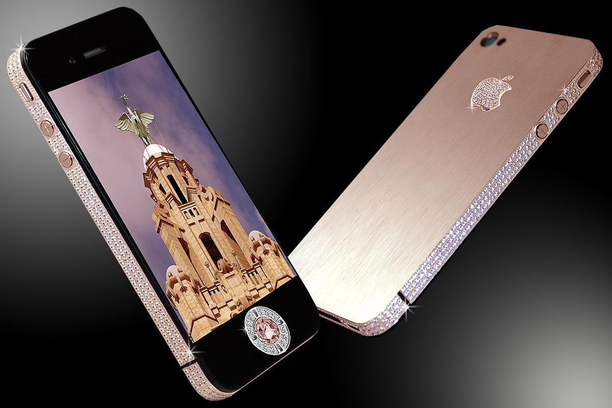 iPhone 4 Diamond Rose Edition