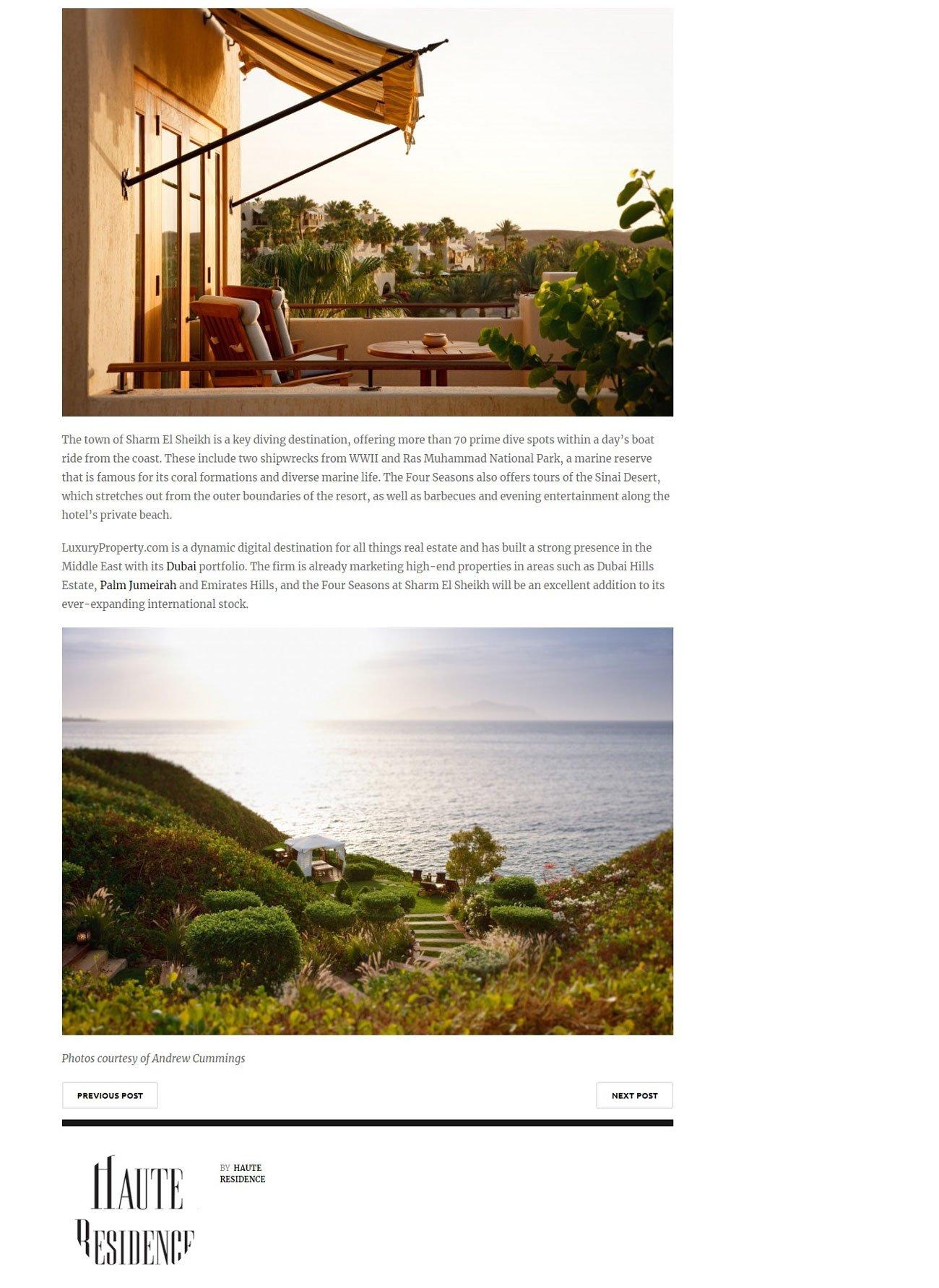 Sharm El Sheikh – Premium Living at Egypt's Finest Resort