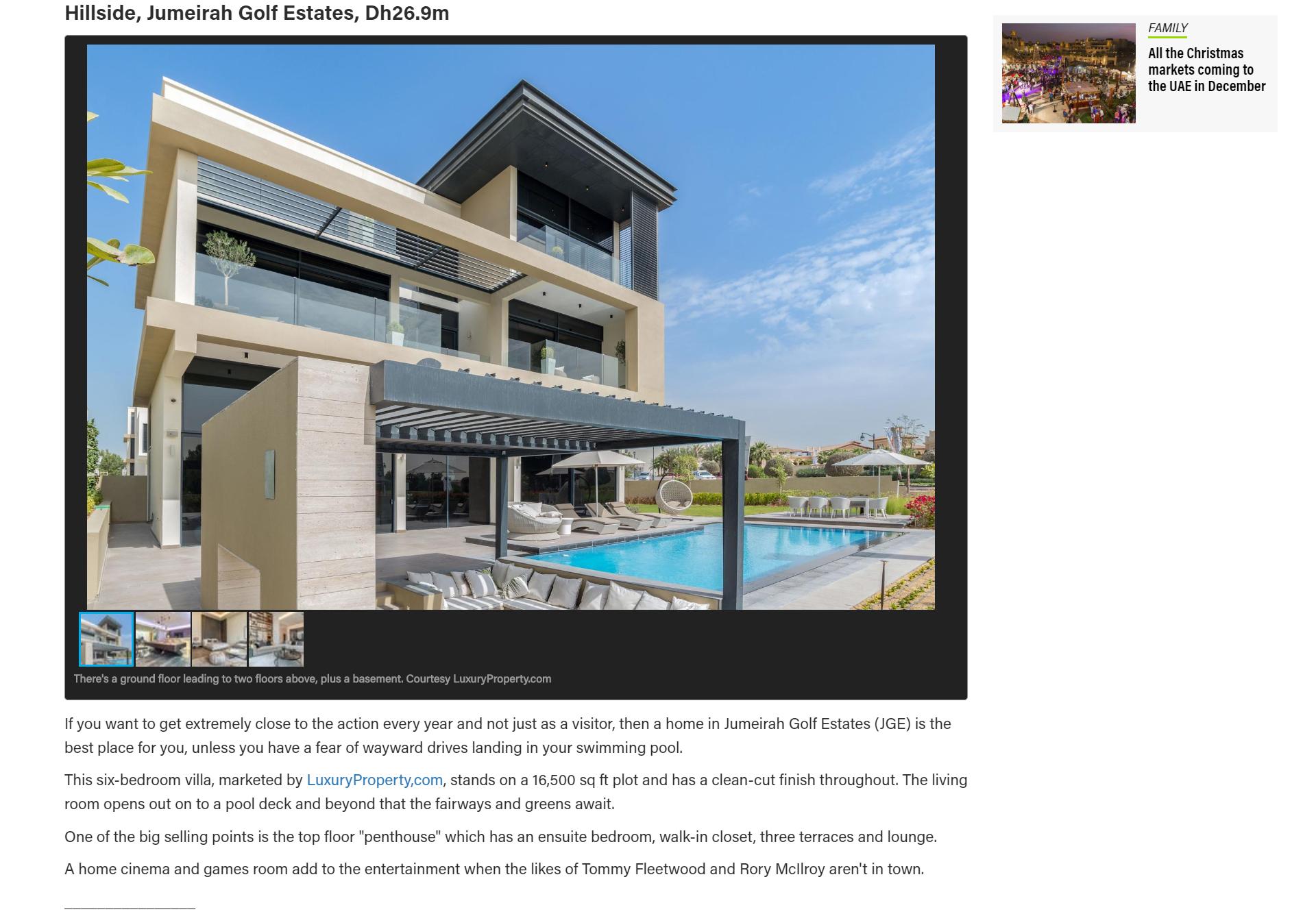 Dubai luxury golf villa - 4