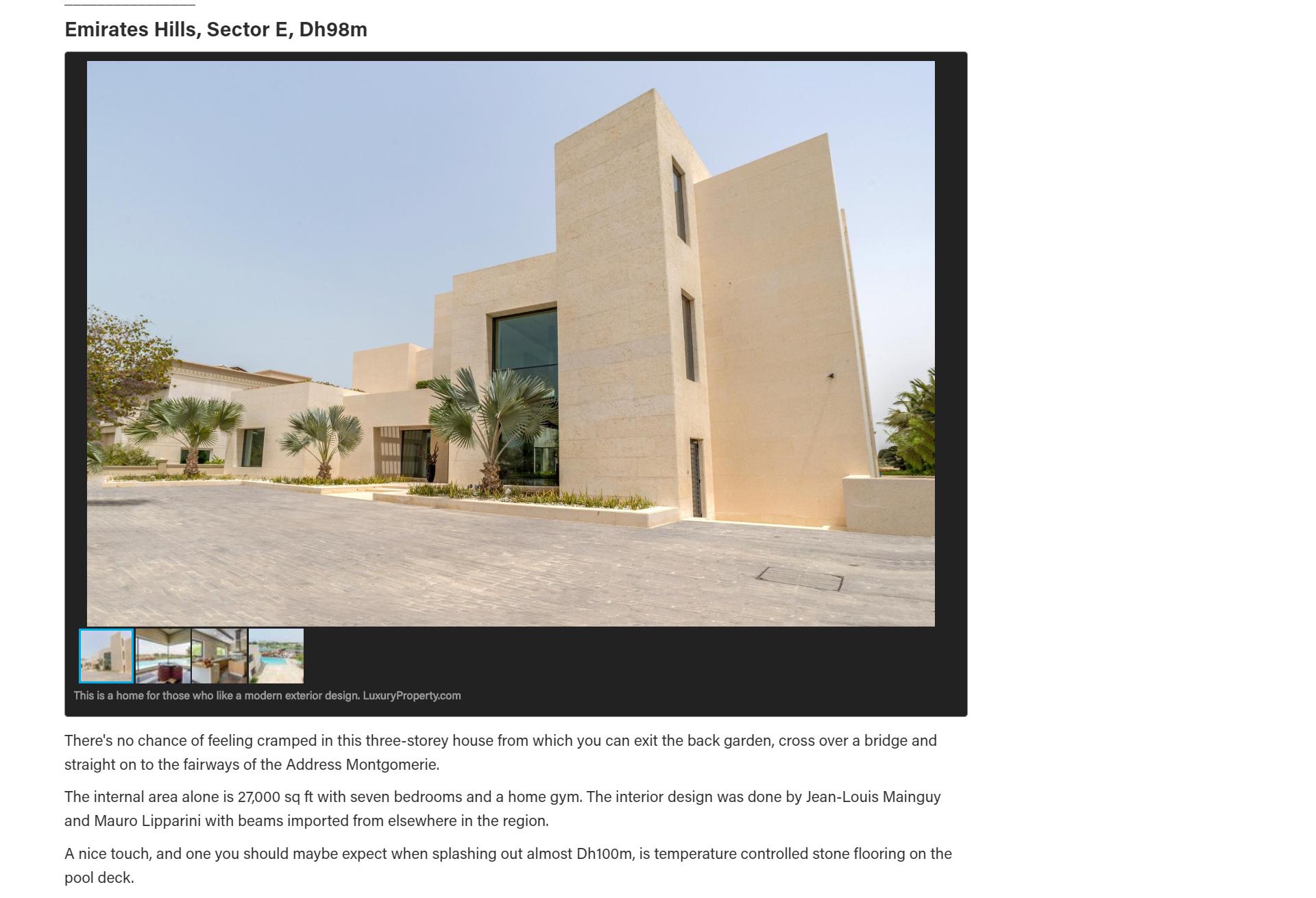 Dubai luxury golf villa - 8