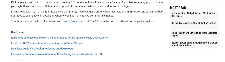 Dh5m villa in Dubai's The Meadows - 5