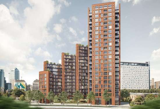 1 Bedroom Apartment in Orchard Wharf, London, 6