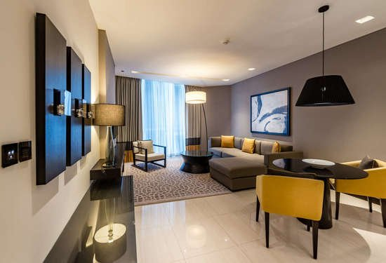 1 Bedroom Serviced Residences in Sheraton Grand Hotel, Sheikh Zayed Road, Dubai