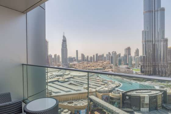 1 Bedroom Serviced Residences in The Address The Boulevard, Downtown Dubai, 1