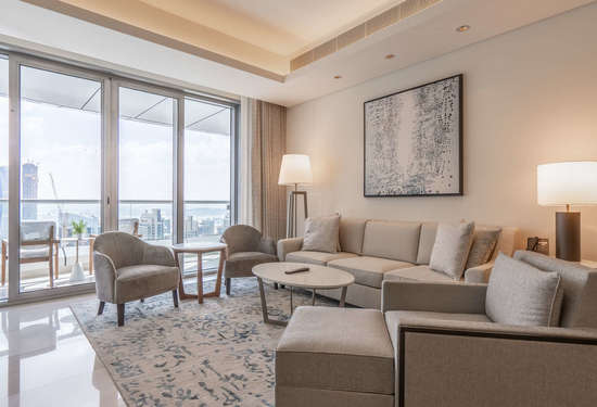 1 Bedroom Serviced Residences in The Address Downtown Hotel, Downtown Dubai, 1