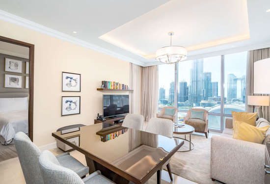 1 Bedroom Serviced Residences in The Address Residences Fountain Views, Downtown Dubai, 1