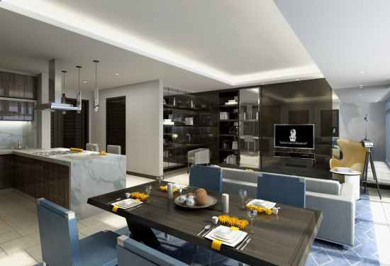 1 Bedroom Serviced Residences in The Ritz Carlton Residences, Kuala Lumpur, 13