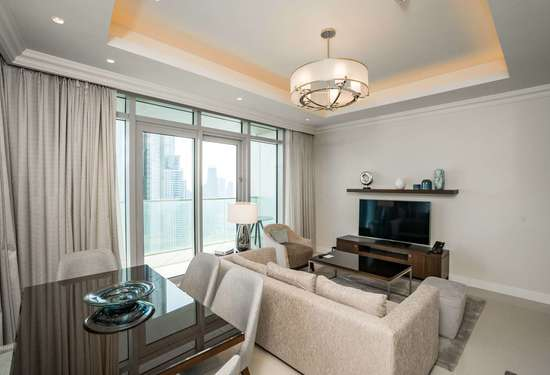 2 Bedroom Serviced Residences in The Address Residences Fountain Views, Downtown Dubai, 1