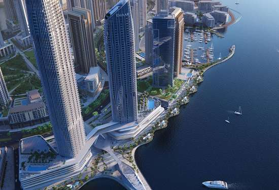 2 Bedroom Serviced Residences in Address Harbour Point, Dubai Creek Harbour, 1
