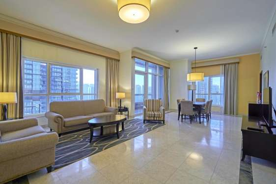 2 Bedroom Serviced Residences in Marriott Harbour Hotel and Suites, Dubai Marina, 1