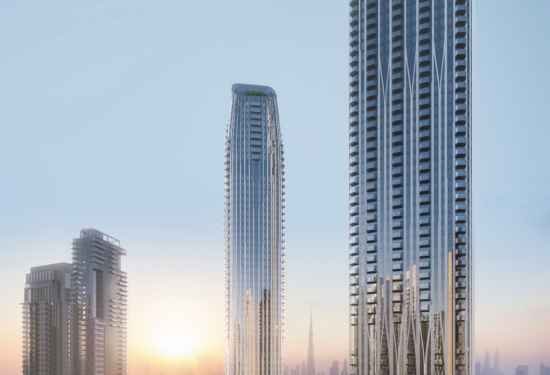 3 Bedroom Serviced Residences in Address Harbour Point, Dubai Creek Harbour, 1
