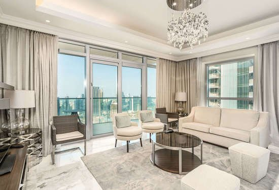 3 Bedroom Serviced Residences in The Address Residences Fountain Views, Downtown Dubai, 1