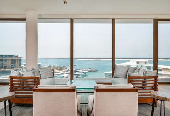 4 Bedroom Penthouse in Bulgari Residences, Jumeirah Bay Island, 1