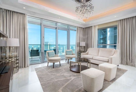 3 Bedroom Penthouse in The Address Residences Fountain Views, Downtown Dubai, 1