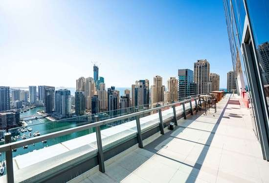 4 Bedroom Penthouse in Silverene Towers, Dubai Marina, 1