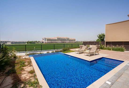 4 Bedroom Villa in Al Habtoor Polo Resort and Club - The Residences, Dubailand, 1