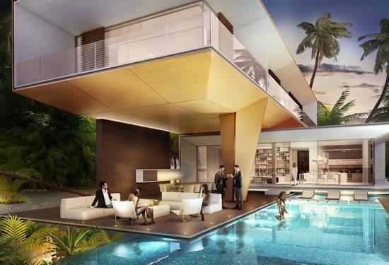 6-Bedroom Germany Villa for Sale at The World Islands, Dubai