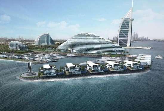 Contemporary Nine Mansion for Sale, Marsa Al Arab, Jumeirah