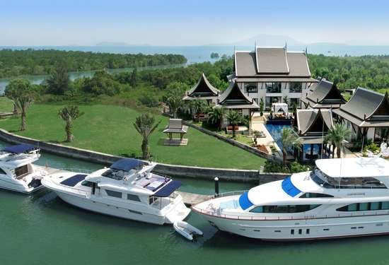 Grand Villa In Royal Phuket Marina, Thailand