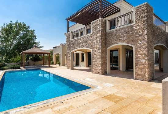 6 Bedroom Villa in Lime Tree Valley, Jumeirah Golf Estates, 1