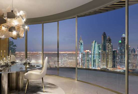 4 Bedroom Penthouse in Grand Bleu Tower, Dubai Harbour, 1