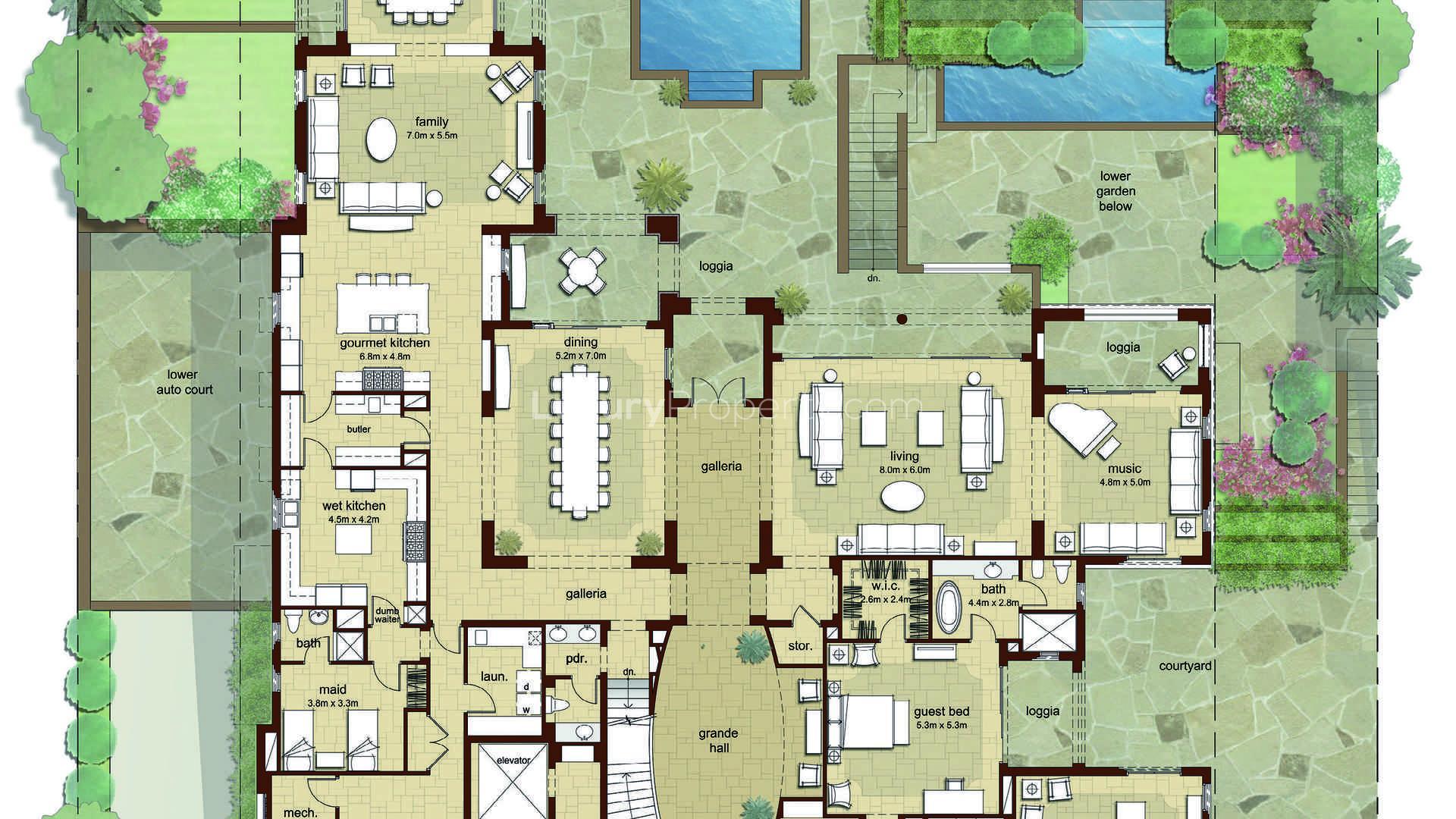 7 Bedroom Mansion in Dubai Hills Estate